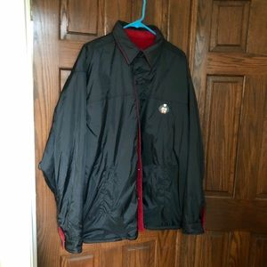 Woodlake New Reversible Red Fleece/ Blk Coat